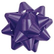 "3 3/4"" Splendorette® Star Bows, Purple"