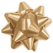 """3 3/4"""" Splendorette® Star Bows, Gold"""
