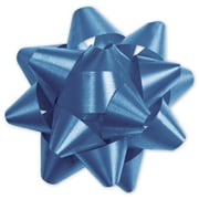 "3 3/4"" Splendorette® Star Bows, Royal Blue"