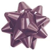 "3 3/4"" Splendorette® Star Bows, Burgundy"