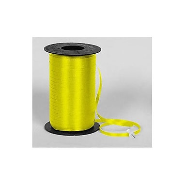 SplendoretteMD – Ruban à friser, 3/16 po x 500 verges, jaune, 4/paquet