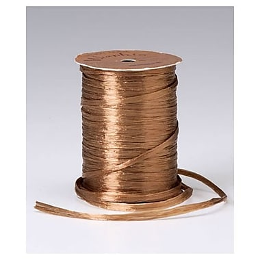 1/4in. x 100 yds. Pearlized Wraphia Ribbon, Copper