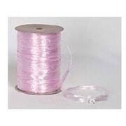 "1/4"" x 100 yds. Pearlized Wraphia Ribbon, Pink"