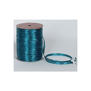 1/4in. x 100 yds. Pearlized Wraphia Ribbon, Teal