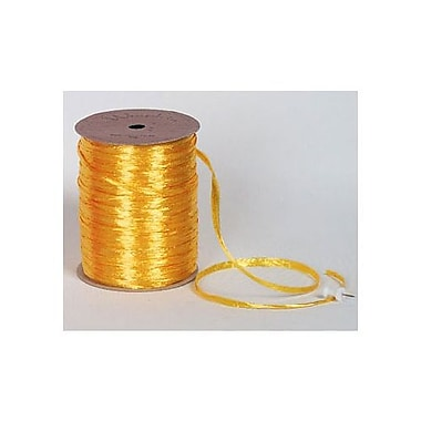 1/4in. x 100 yds. Pearlized Wraphia Ribbon, Daffodil
