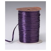 "1/4"" x 100 yds. Pearlized Wraphia Ribbon, Plum"