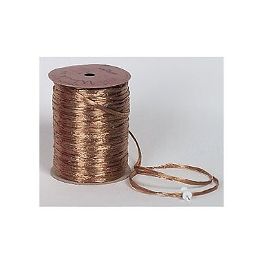 1/4in. x 100 yds. Pearlized Wraphia Ribbon, Kraft