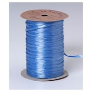 1/4 x 100 yds. Pearlized Wraphia Ribbon, Williamsburg Blue