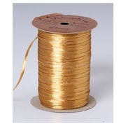 1/4 x 100 yds. Pearlized Wraphia Ribbon, Pearlized Gold