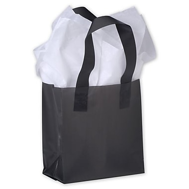 Bags & Bows® 6 1/2in. x 3 1/2in. x 6 1/2in. Frosted High Density Shoppers