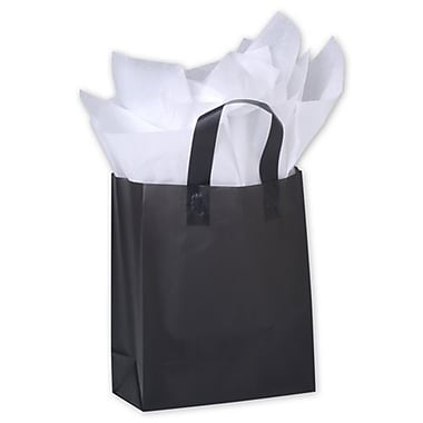 Bags & Bows® 8in. x 4in. x 10in. Frosted High Density Shoppers