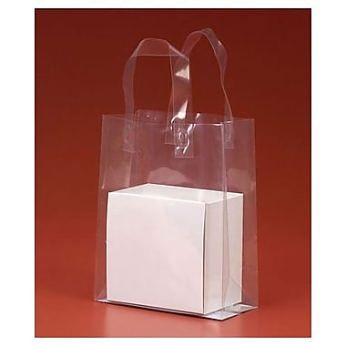 8in. x 4in. x 10in. Polypro Shoppers, Clear
