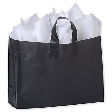 Frosted High Density Shoppers, 16in. x 6in. x 12in.