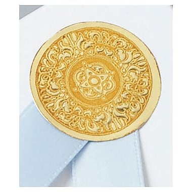 1in. Medallion Seal, Gold