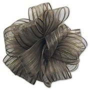 "Bags & Bows® 4"" Fasbos Bows, Chocolate"