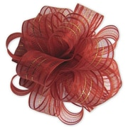 "4"" Fasbos Polyster Bows, Red"