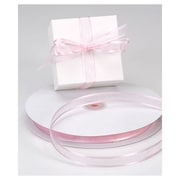 "5/8"" x 100 yds. Organza Satin Edge Ribbon, Pink"