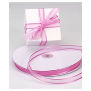 "5/8"" x 100 yds. Organza Satin Edge Ribbon, Azalea"