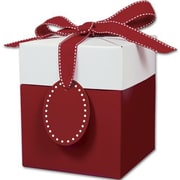6 x 5 x 5 Giftalicious Pop Up Boxes, Ruby Red