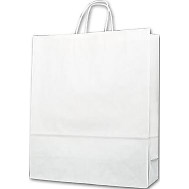 16in. x 6in. x 19in. Paper Shoppers Queen, White