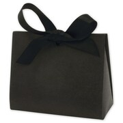 "Kraft Paper 3.75""H x 2""W x 4.5""L Solid Gift Card Holders, Black, 100/Pack"