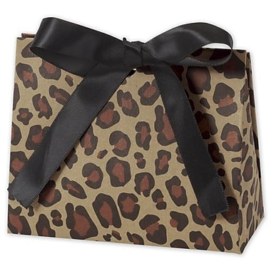 3 3/4in. x 4 1/2in. x 2in. Purse Style Gift Card Holder, Leopard