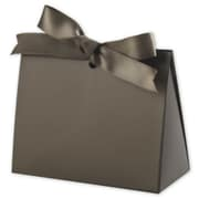 "Paper 3.75""H x 2""W x 4.5""L Solid Gift Card Holders, Chocolate, 100/Pack"