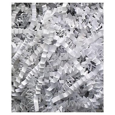 Papier ondulé pour garnissage, 10 lb, blanc
