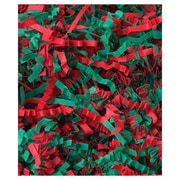 10 lbs. Holiday Spring Crinkle Cut Fill, Red/Green Blend