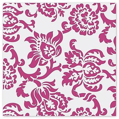 30in. x 100' Polypropylene Film Roll, Hot Pink/White