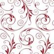 "30"" x 100' Jewel Polypropylene Film Roll, Red/ White"