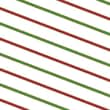"30"" x 100' Seasonal Stripe Polypropylene Film Roll"