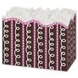 5in. x 4in. x 6 3/4in. Cupcake Gift Basket Boxes, White/Pink/Brown