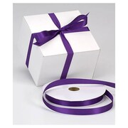 "5/8"" x 100 yds. Dyna Satin Ribbon, Purple"