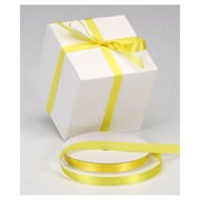 "5/8"" x 100 yds. Dyna Satin Ribbon, Yellow"