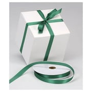 "5/8"" x 100 yds. Dyna Satin Ribbon, Holiday Green"
