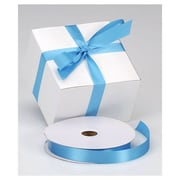 "7/8"" x 100 yds. Dyna Satin Ribbon, Turquoise"