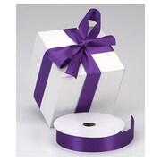 "1 3/8"" x 100 yds. Dyna Satin Ribbon, Purple"