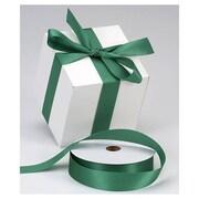 "1 3/8"" x 100 yds. Dyna Satin Ribbon, Holiday Green"