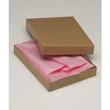 11 1/2in. x 8 1/2in. x 1 5/8in. Two-Piece Apparel Boxes, Kraft