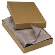 15 x 9 1/2 x 2 Two-Piece Apparel Boxes, Kraft