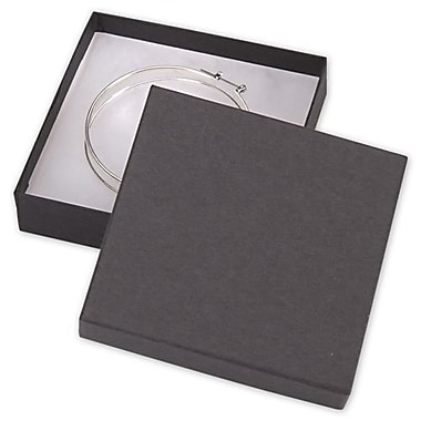 Bags & Bows® 3 1/2in. x 3 1/2in. x 7/8in. Kraft Jewelry Boxes