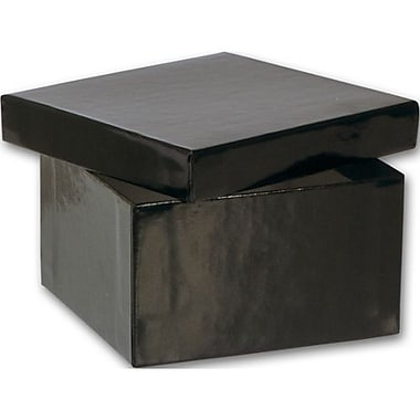 3 1/2in. x 3 1/2in. x 2in. Jewelry Boxes, Black