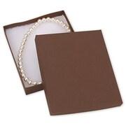 6 x 5 x 1 Jewelry Boxes, Cocoa