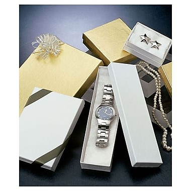 Variety of Sizes Jewelry Box Assortment, White