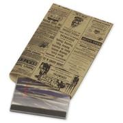 Paper 9.25H x 6.25W Newsprint Merchandise Bags, Brown, 1000/Pack