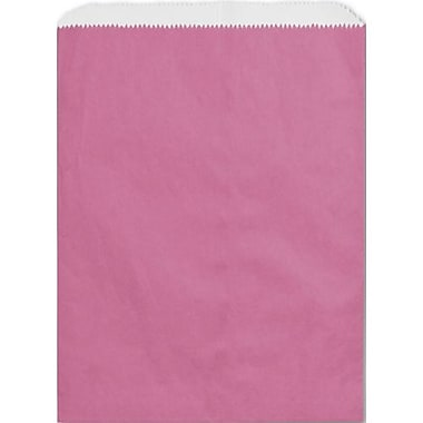 8 1/2in. x 11in. Paper Merchandise Bags, Hot Pink
