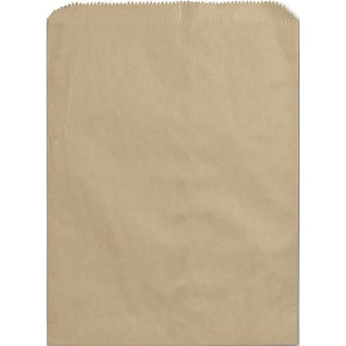 8 1/2in. x 11in. Paper Merchandise Bags, Kraft