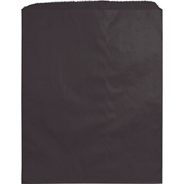 12in. x 15in. Paper Merchandise Bags, Black