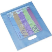 "Frosted High Density Merchandise Bags, 12"" x 15"", 500/Pack"